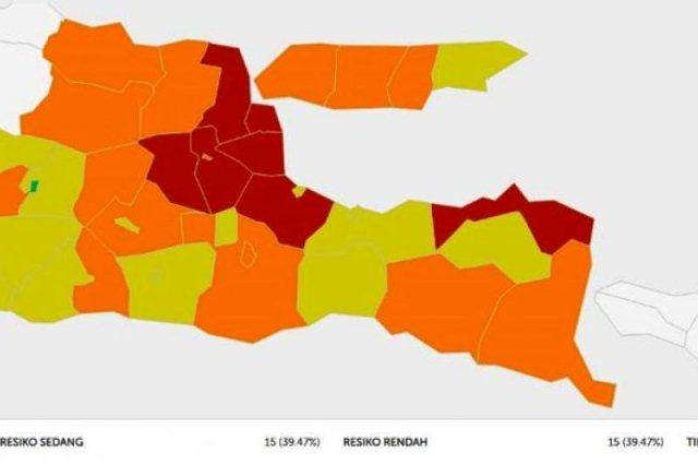 Ini 7 Daerah Di Jatim Yang Masuk Zona Merah Penyebaran Corona Media Pelangi